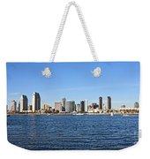 San Diego Ca Harbor Skyline Weekender Tote Bag