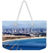 San Diego From Point Loma By Diana Sainz Weekender Tote Bag