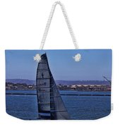 San Diego Harbor Sailing Weekender Tote Bag