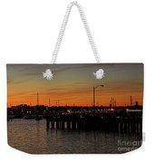 San Diego Harbor Sunset Weekender Tote Bag