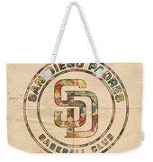 San Diego Padres Logo Art Weekender Tote Bag