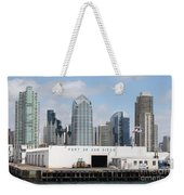 San Diego Port Weekender Tote Bag