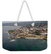 San Diego Shoreline From Above Weekender Tote Bag