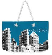 San Diego Skyline 1 - Steel Weekender Tote Bag