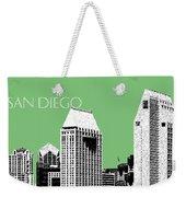 San Diego Skyline 2 - Apple Weekender Tote Bag