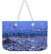 San Diego Twilight Weekender Tote Bag