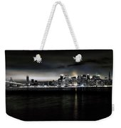 Across The Bay Version A Weekender Tote Bag