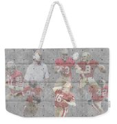 San Francisco 49ers Legends Weekender Tote Bag