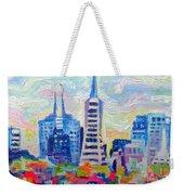 San Francisco Colors Weekender Tote Bag