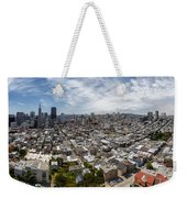 San Francisco Daytime Panoramic Weekender Tote Bag
