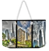 San Francisco Embarcadero Panel Weekender Tote Bag