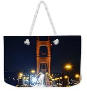 San Francisco - Golden Gate Bridge From North Vista Point Weekender Tote Bag