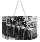 San Francisco Kinetoscope Weekender Tote Bag