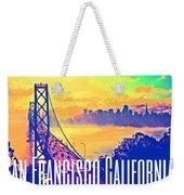 San Francisco Postcard Weekender Tote Bag