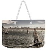 San Francisco Sails Weekender Tote Bag