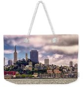 San Francisco Skyline Weekender Tote Bag