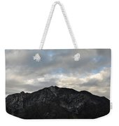 San Gabriel Mountains Evening Weekender Tote Bag