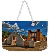 San Geronimo Church Taos Pueblo Weekender Tote Bag