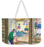San Gimignano Weekender Tote Bag by Pamela Allegretto