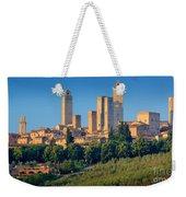 San Gimignano Skyline Weekender Tote Bag