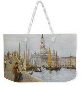 San Giorgio Maggiore From The Zattere Weekender Tote Bag