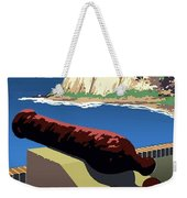 San Juan National Historic Site Vintage Poster Weekender Tote Bag