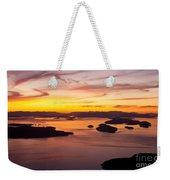 San Juans Sunset Weekender Tote Bag