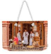 San Miguel - Waiting For Customers Weekender Tote Bag