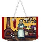 San Pascual Making Biscochitos Weekender Tote Bag
