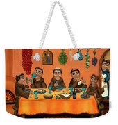 San Pascuals Table Weekender Tote Bag