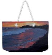 San Simeon Sunset Weekender Tote Bag