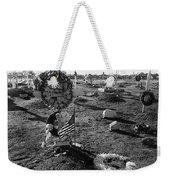 San Xavier Del Bac Cemetery 1987 Weekender Tote Bag