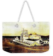 San Xavier Del Bac Mission As Seen From An Adjacent Hill C-1913-2013.  Weekender Tote Bag
