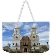 San Xavier Del Bac Mission Facade Weekender Tote Bag