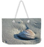Sand And Seashell Weekender Tote Bag