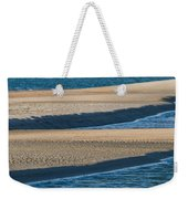 Sand And Water Textures Abstract Weekender Tote Bag