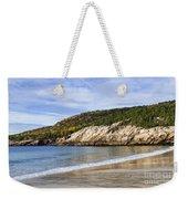 Sand Beach Acadia Weekender Tote Bag