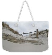 Sand Dune And Fence Weekender Tote Bag