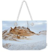 Sand Dune In Winter Weekender Tote Bag
