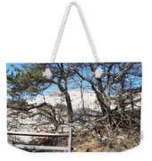 Sand Dune With Trees Weekender Tote Bag