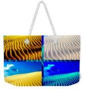 Sand Dunes Collage Weekender Tote Bag