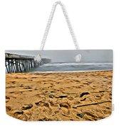 Sand On The Beach Weekender Tote Bag