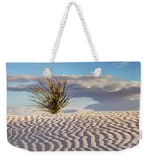 Sand Patterns And The Yucca Weekender Tote Bag