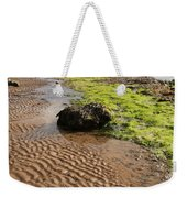 Sand Patterns On Robin Hoods Bay Beach Weekender Tote Bag