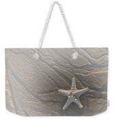 Sand Prints And Starfish II Weekender Tote Bag