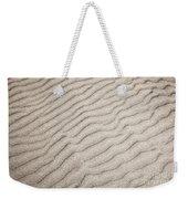 Sand Ripples Natural Abstract Weekender Tote Bag