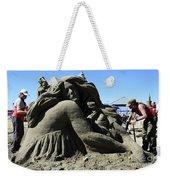 Sand Sculpture 1 Weekender Tote Bag by Bob Christopher