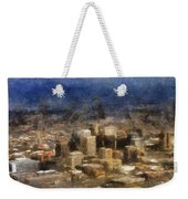 Sand Storm Approaching Phoenix Photo Art Weekender Tote Bag