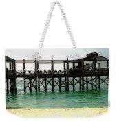 Sandals Resort Nassau Pier Weekender Tote Bag