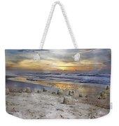 Sandcastle Sunrise Weekender Tote Bag